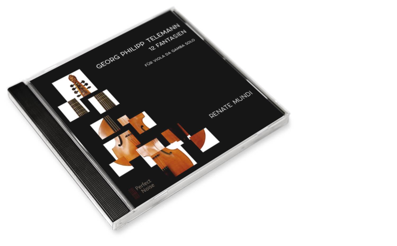 CD Renate Mundi 12 Fantasien Georg Philipp Telemann
